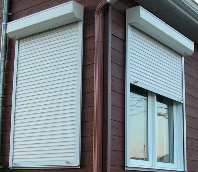Aluminium Window Shutters